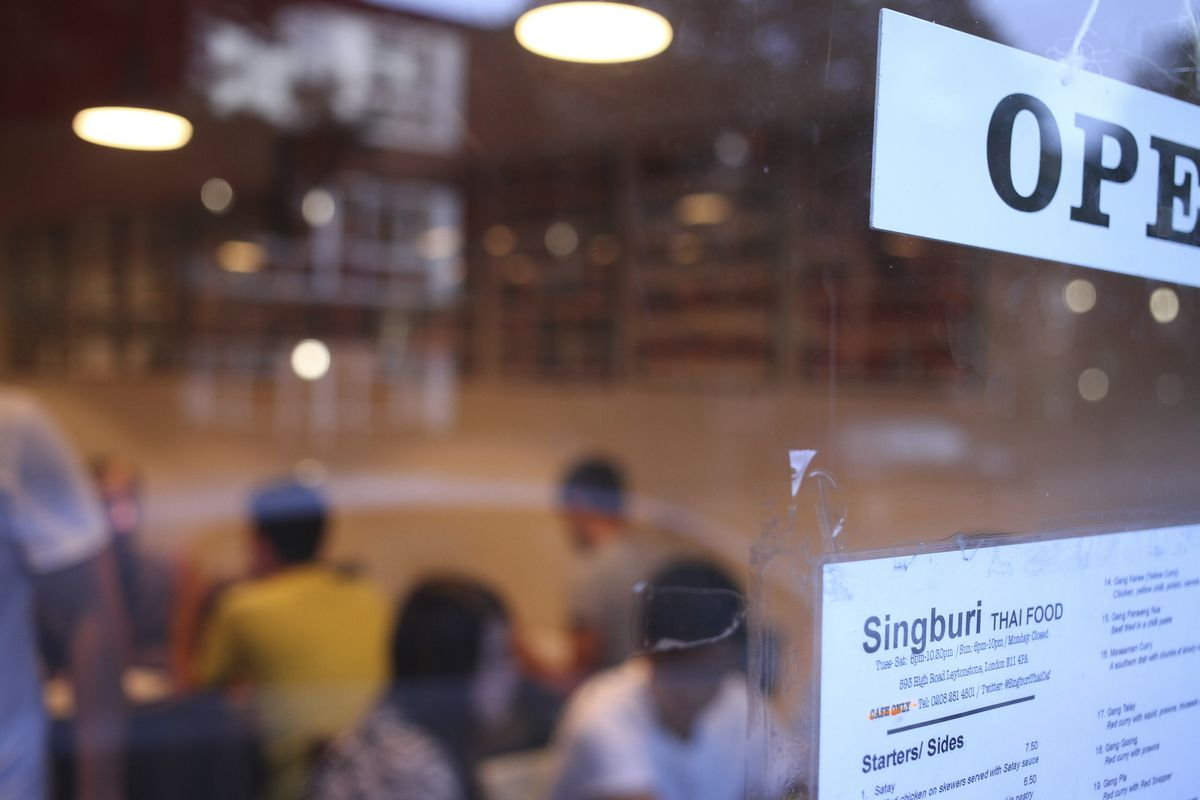 Though the dining room has been closed since March, Singburi has served takeaway customers via collection throughout the pandemic