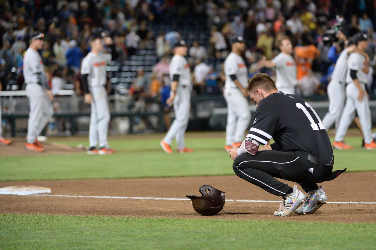 NCAA Baseball: College World Series-Mississippi State vs Oregon State