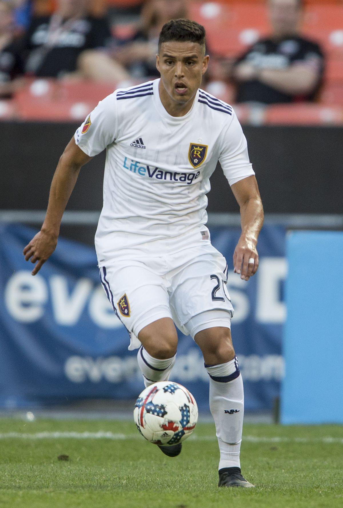 SOCCER: AUG 13 MLS - Real Salt Lake at DC United