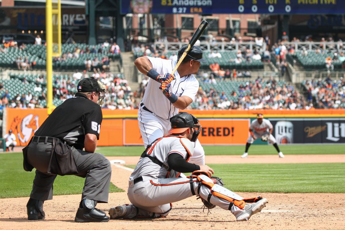 MLB: AUG 01 Orioles at Tigers
