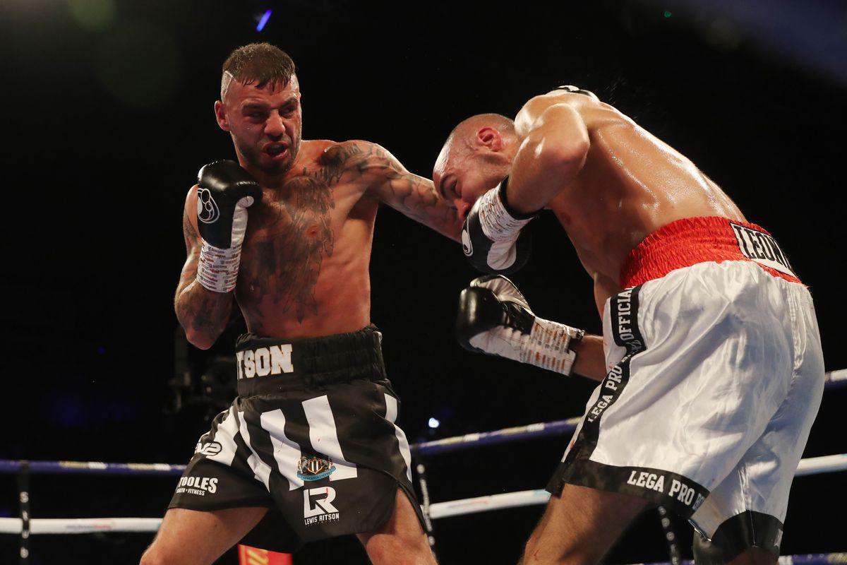 Boxing at Metro Radio Arena