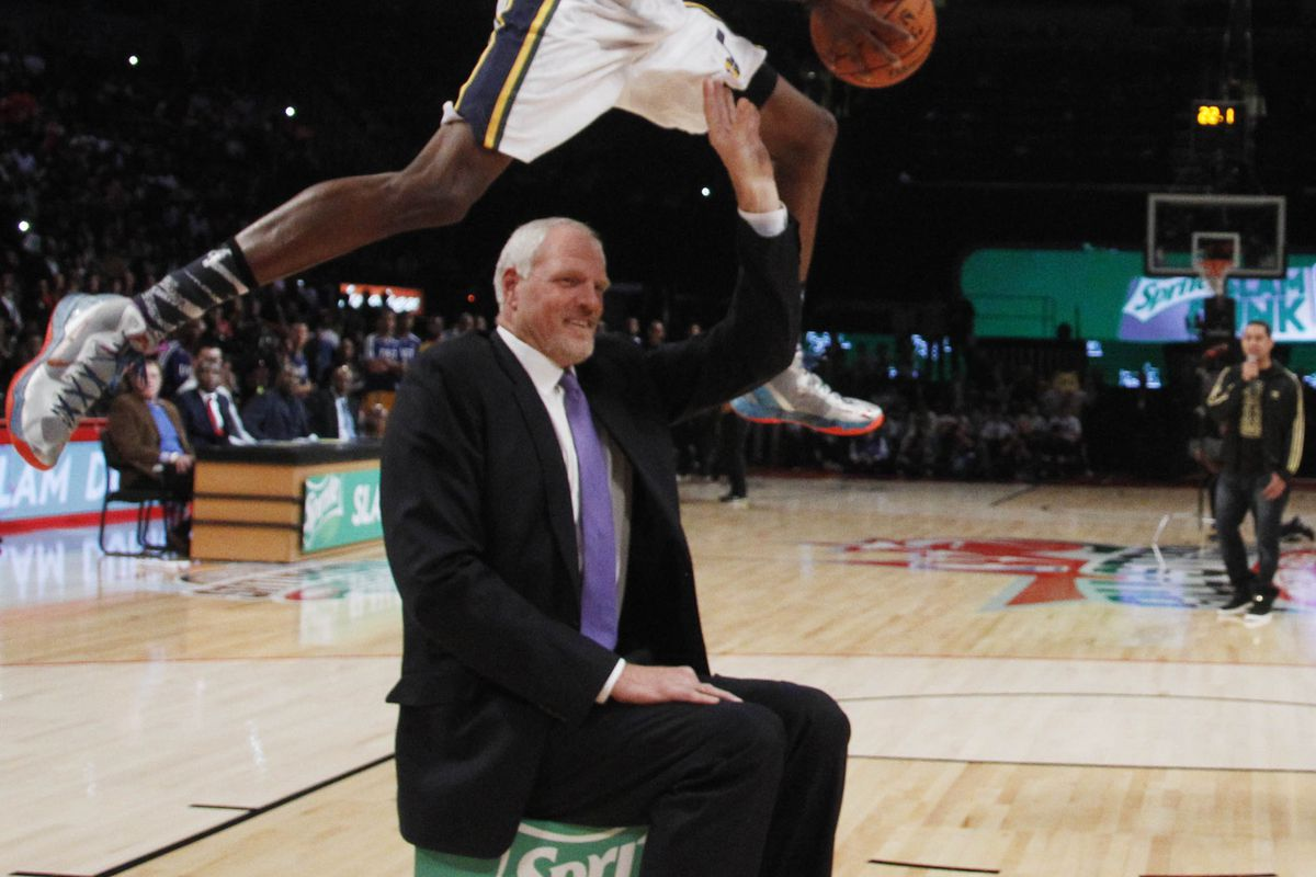 Utah Jazz 40 at 40 Big Mark Eaton was Big and also Good