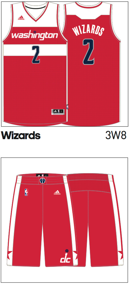 Wiz alternate jersey