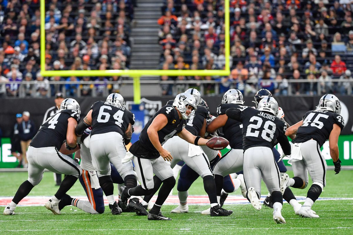 Raiders took challenge vs Bears D line 'personally' and 'punched them in the mouth'