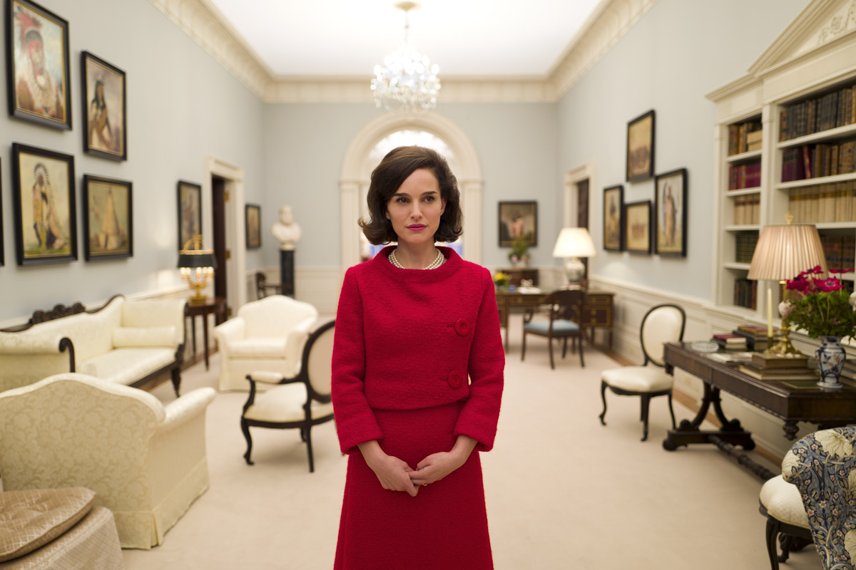 Natalie Portman played Jackie Kennedy in Jackie