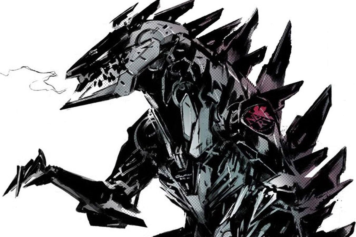 Metal Gear artist Yoji Shinkawa designs his own version of Godzilla ...