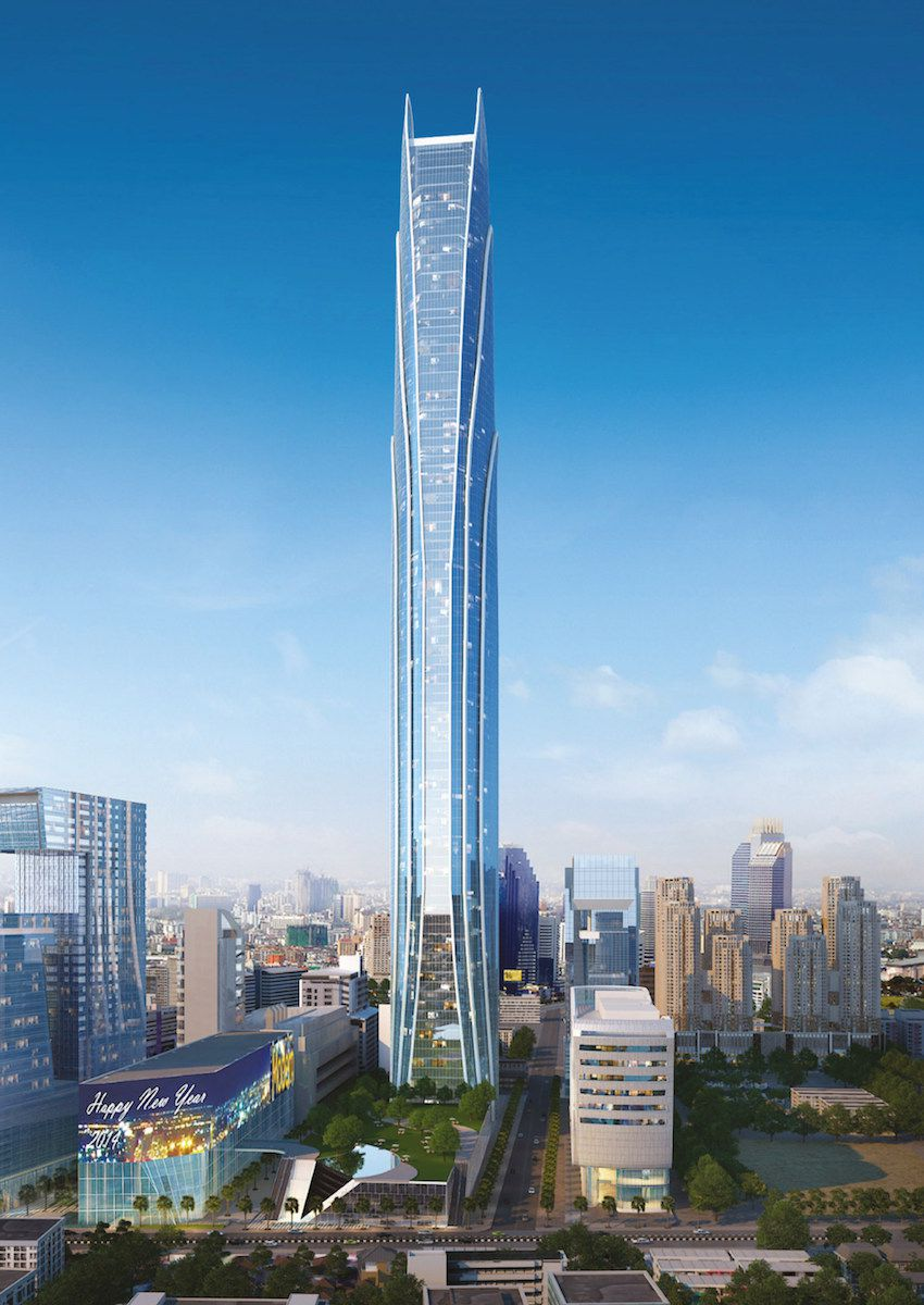 10 tallest buildings under construction or in development