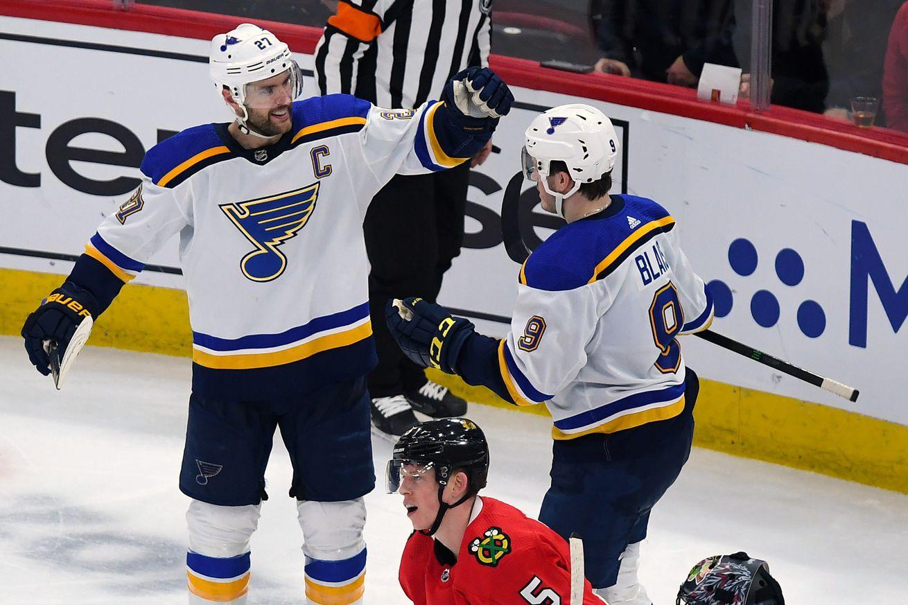 NHL: St. Louis Blues at Chicago Blackhawks