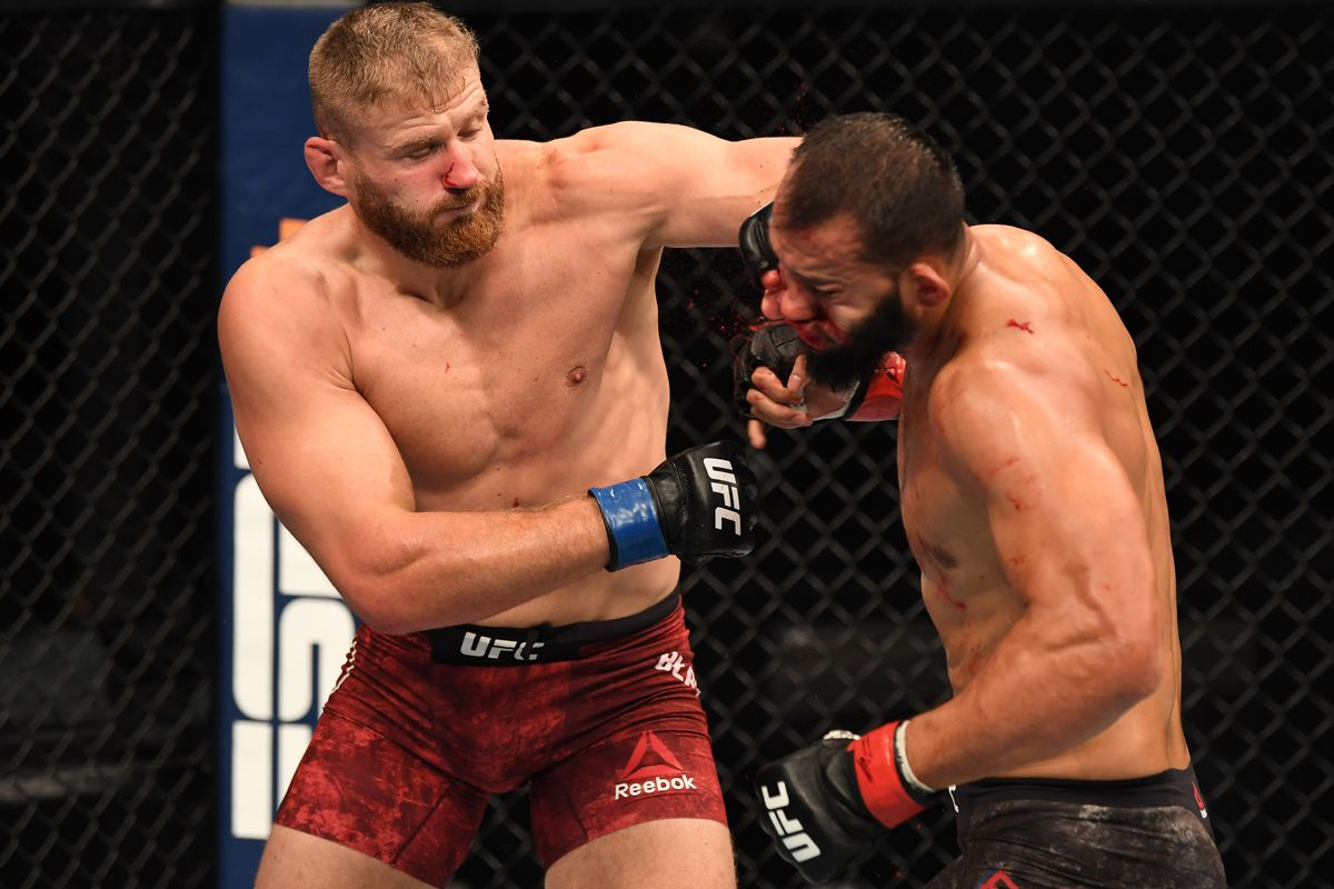 Jan Blachowicz calls out Jon Jones after claiming light heavyweight title  with knockout over Dominick Reyes - MMA Fighting