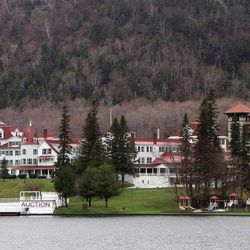 FILE- This May 10, 2012, file photo shows The Balsams grand hotel in Dixeville Notch, N.H.  An auction is set for Saturday, Sept. 22, 2012, to clear out the nearly 150-year-old resort. The resort was sold last year to two businessmen for $2.3 million. They plan to reopen it in 2013. Andy Martin, who has run for U.S. Senate in Illinois and twice run for president of the United States, is trying, in September 2012, to get a New Hampshire judge to undo the sale of The Balsams and appoint a receiver to reopen it immediately.