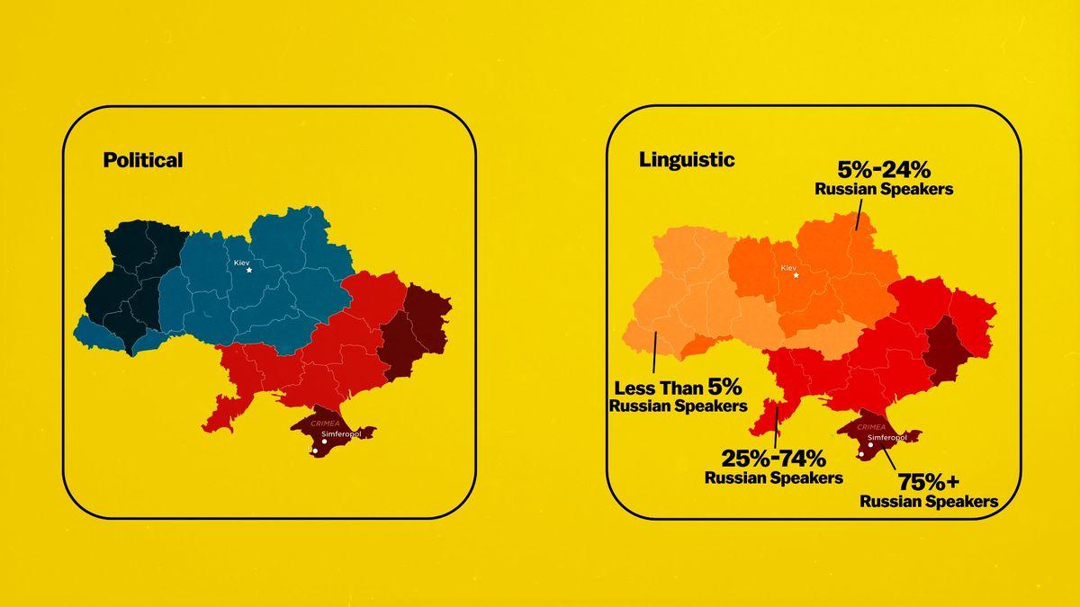 Ukraine political linguistic divide