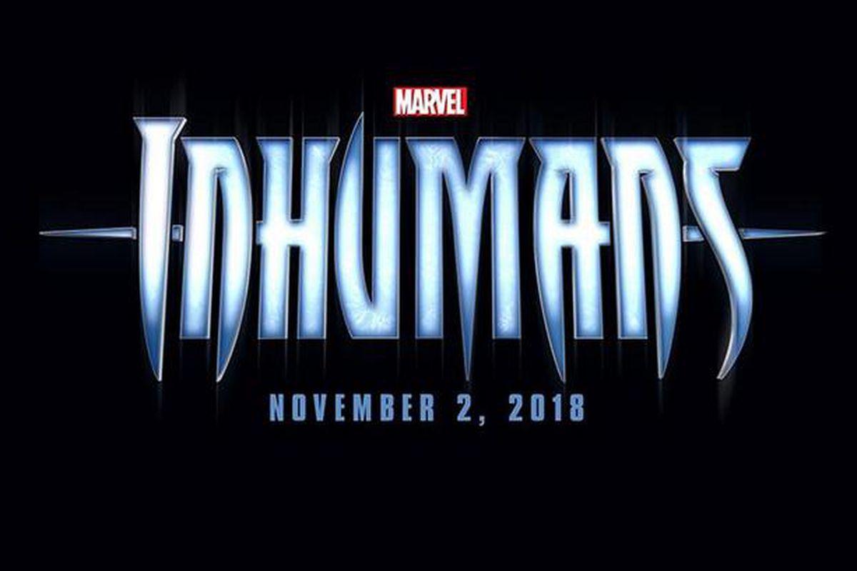marvel film inhumans