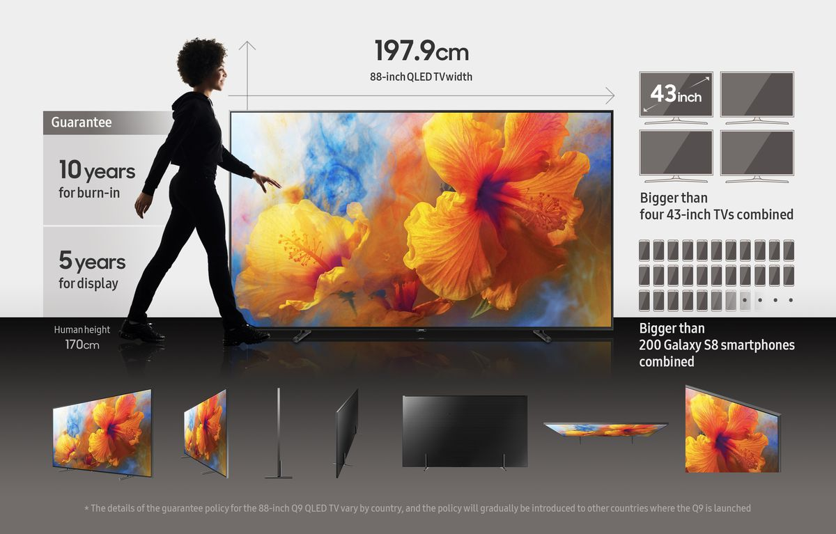 Samsung's massive 88-inch Q9 TV is now at BestBuy for