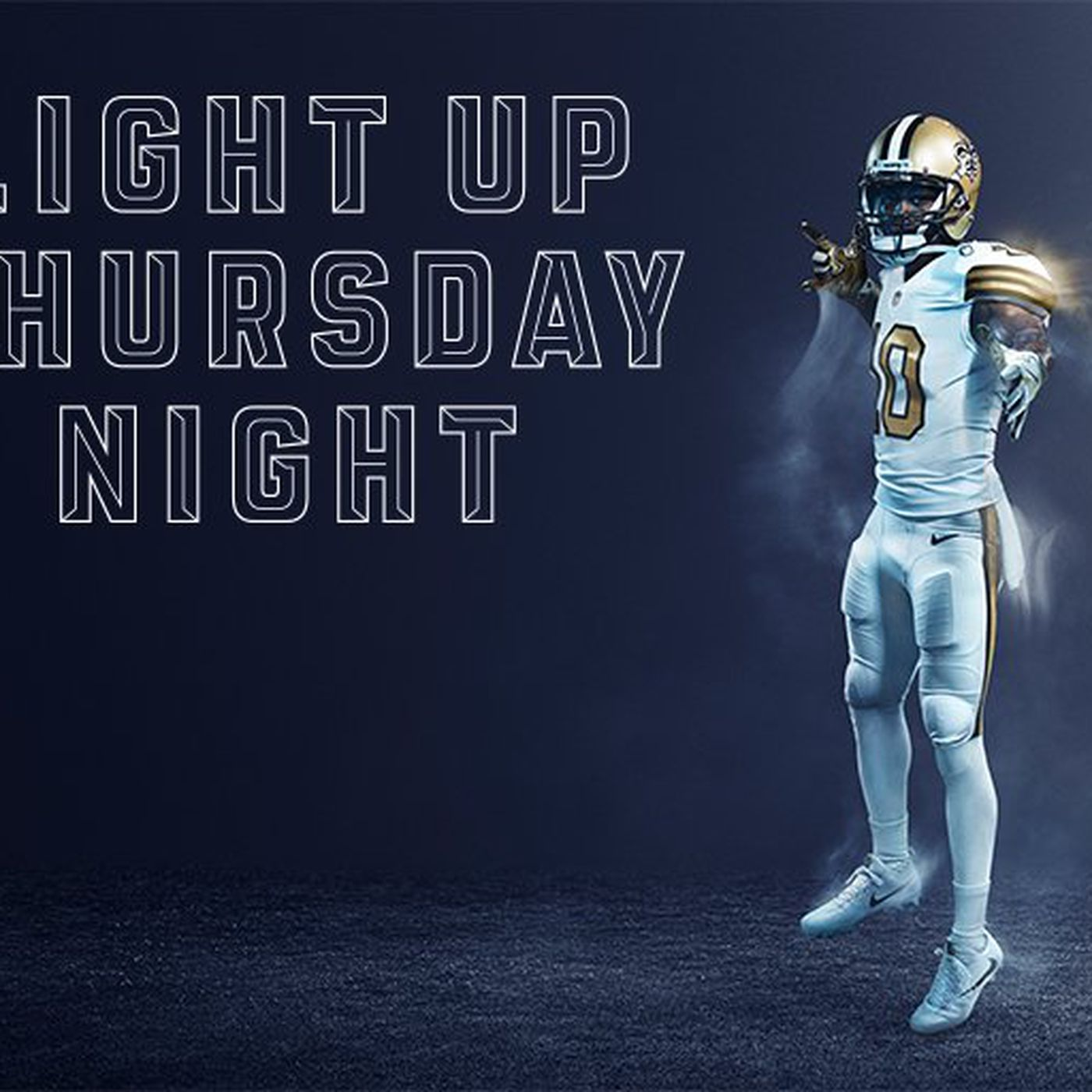 New Orleans Saints Nike Unveil Color Rush Uniforms Canal