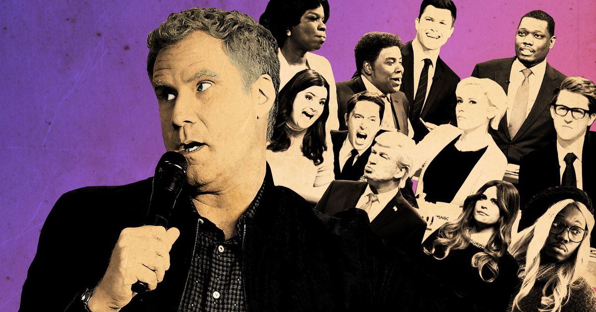 Will ferrell returns and snl has its best episode of the season the ringer - Will ferrell one man show ...