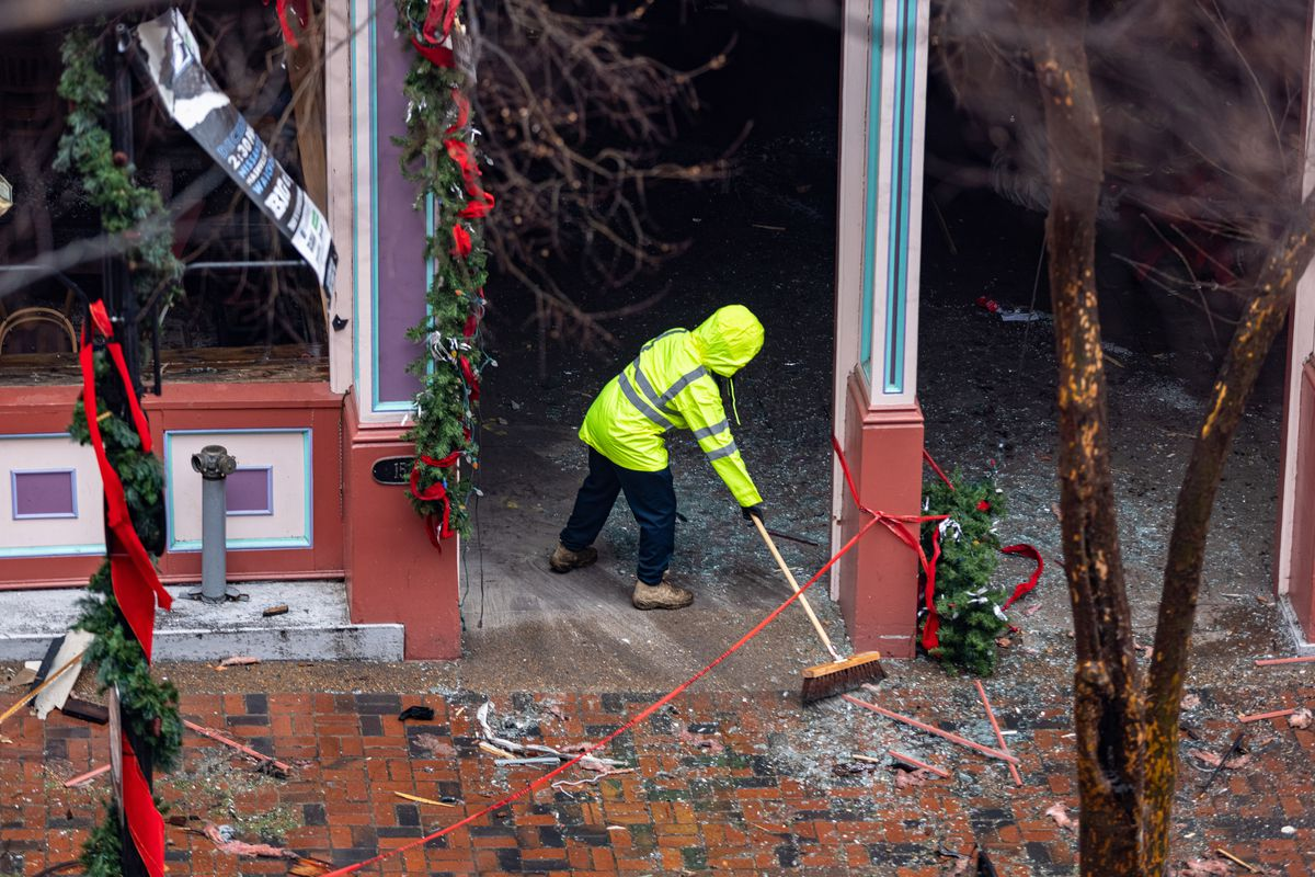Volunteer Group Helps Clean Up Nashville Bombing Site