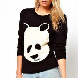 "Panda sweater, <a href=""http://us.asos.com/ASOS-Paul-The-Panda-Sweater/10y6bv/?iid=2938493&SearchQuery=panda&sh=0&pge=0&pgesize=36&sort=-1&clr=Black&mporgp=L0FTT1MvQVNPUy1QYXVsLVRoZS1QYW5kYS1KdW1wZXIvUHJvZC8."">$36.11</a> at ASOS"