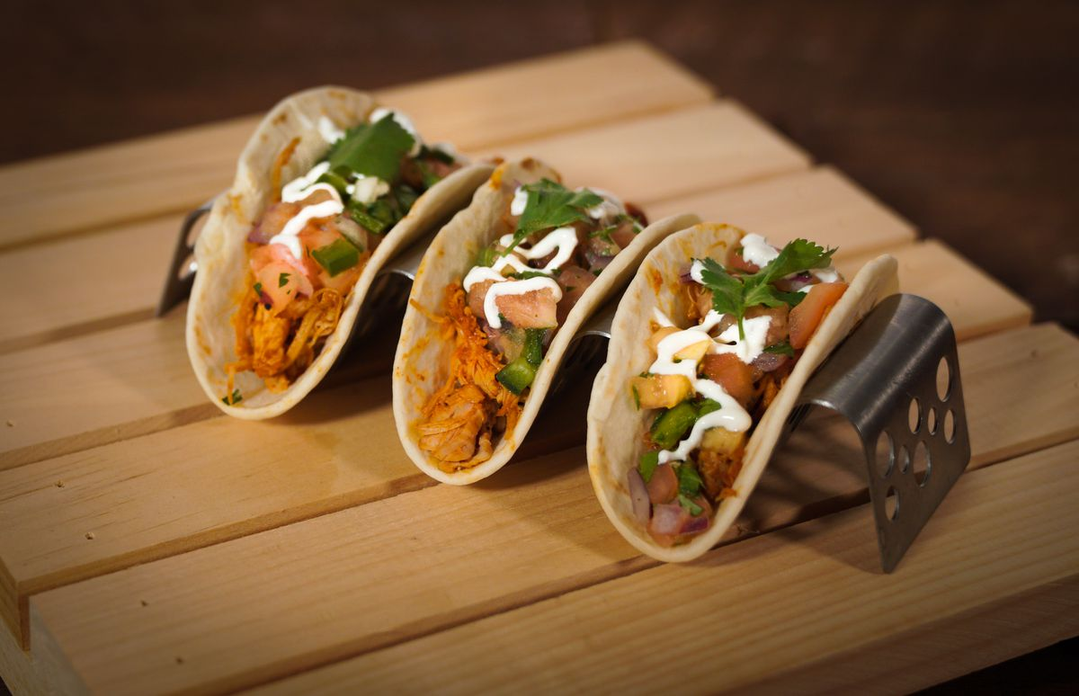 Tacos from Taqueria del Barrio are new to Nationals Park