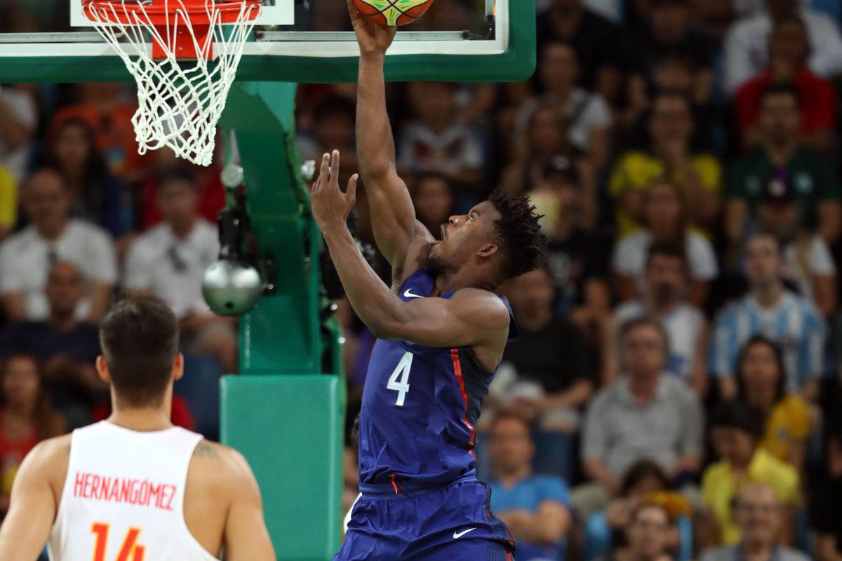 Olympics: Basketball-Men's Team-Semifinal-USA vs ESP