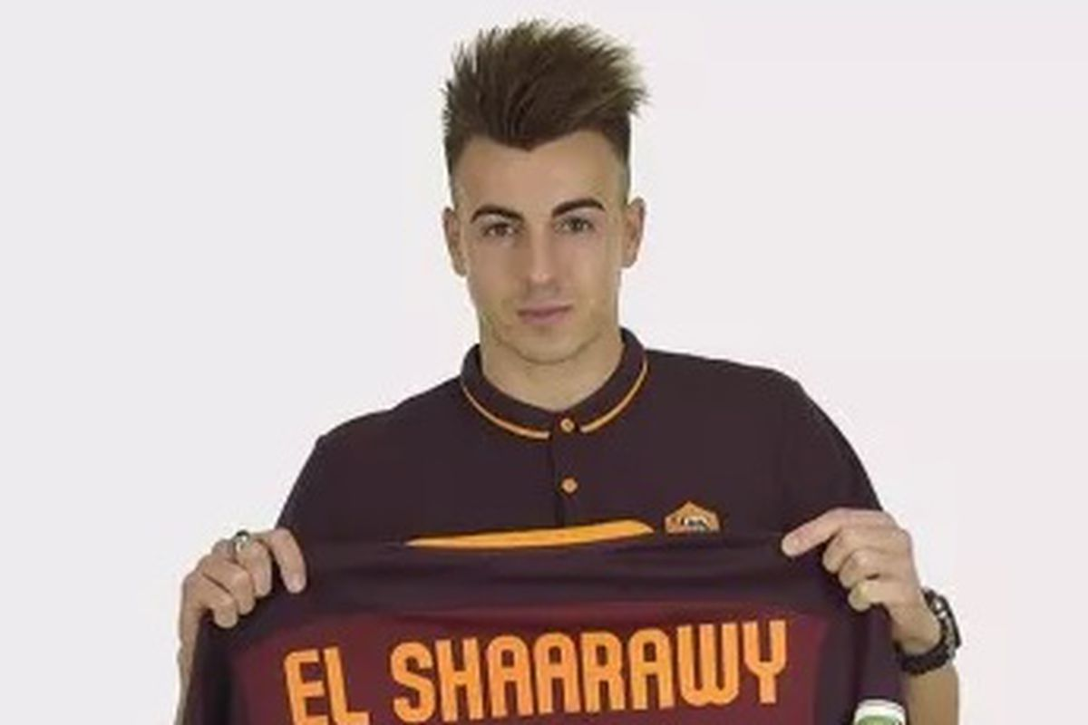 ficial Roma Signs Stephan El Shaarawy Chiesa Di Totti