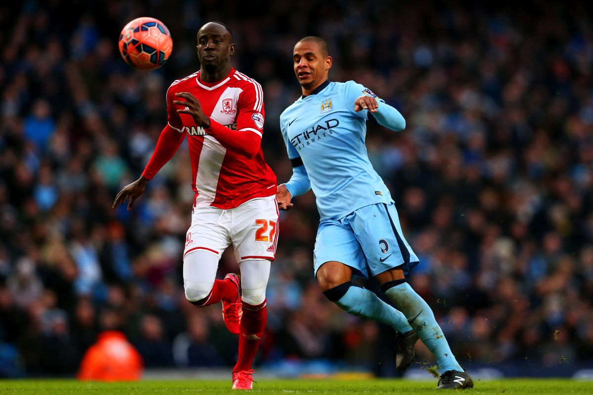 Manchester City squared off against Middlesbrough. They lost.