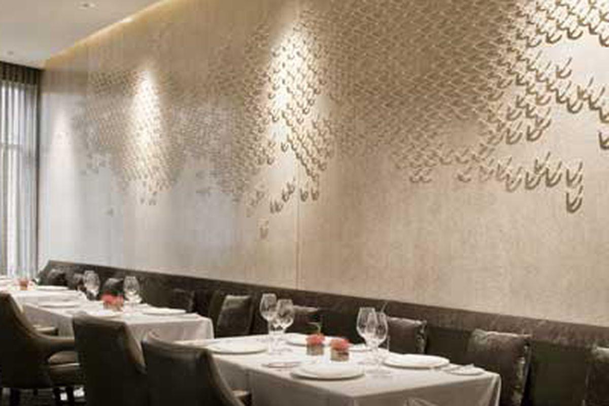 Dining room at Ria