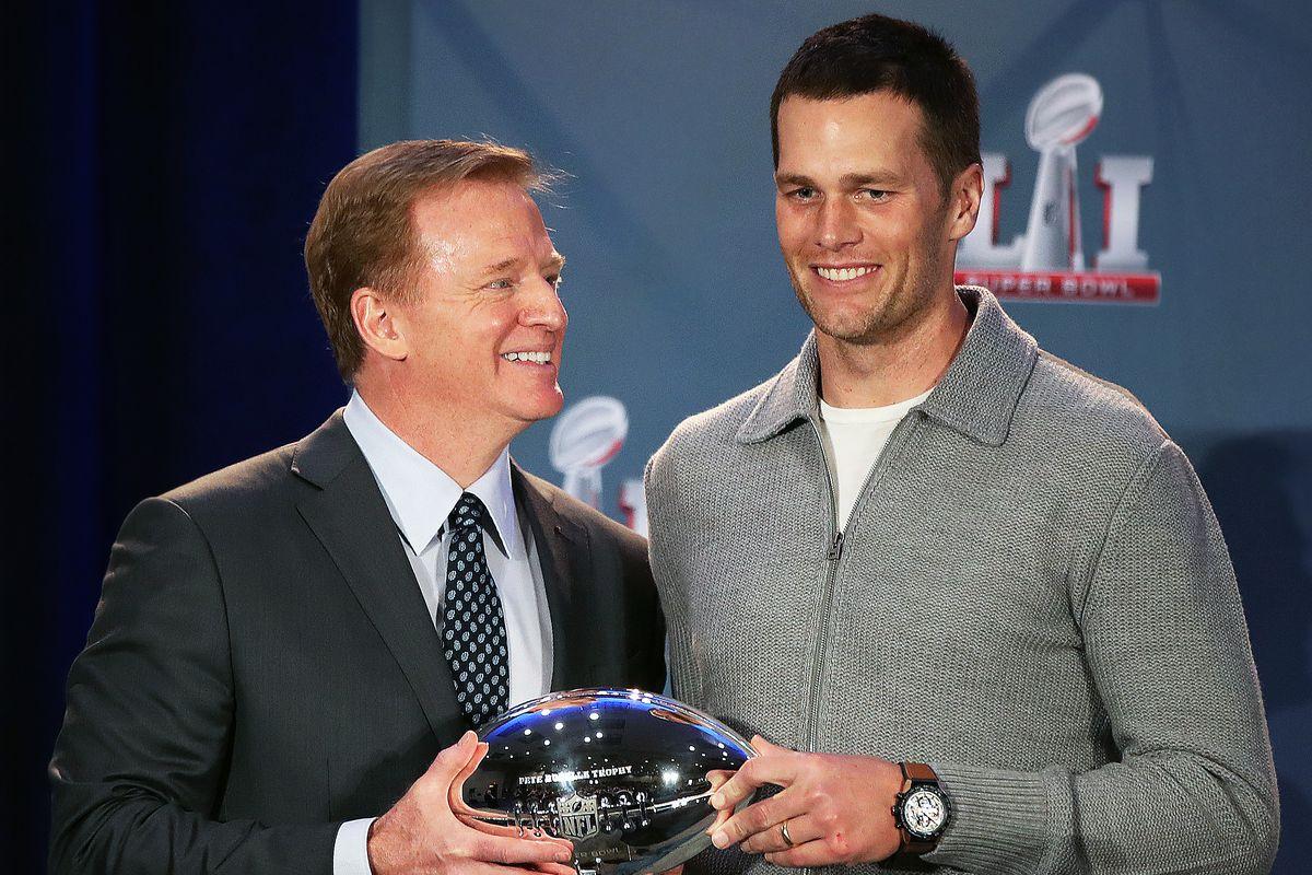 Super Bowl LI MVP Trophy Presentation