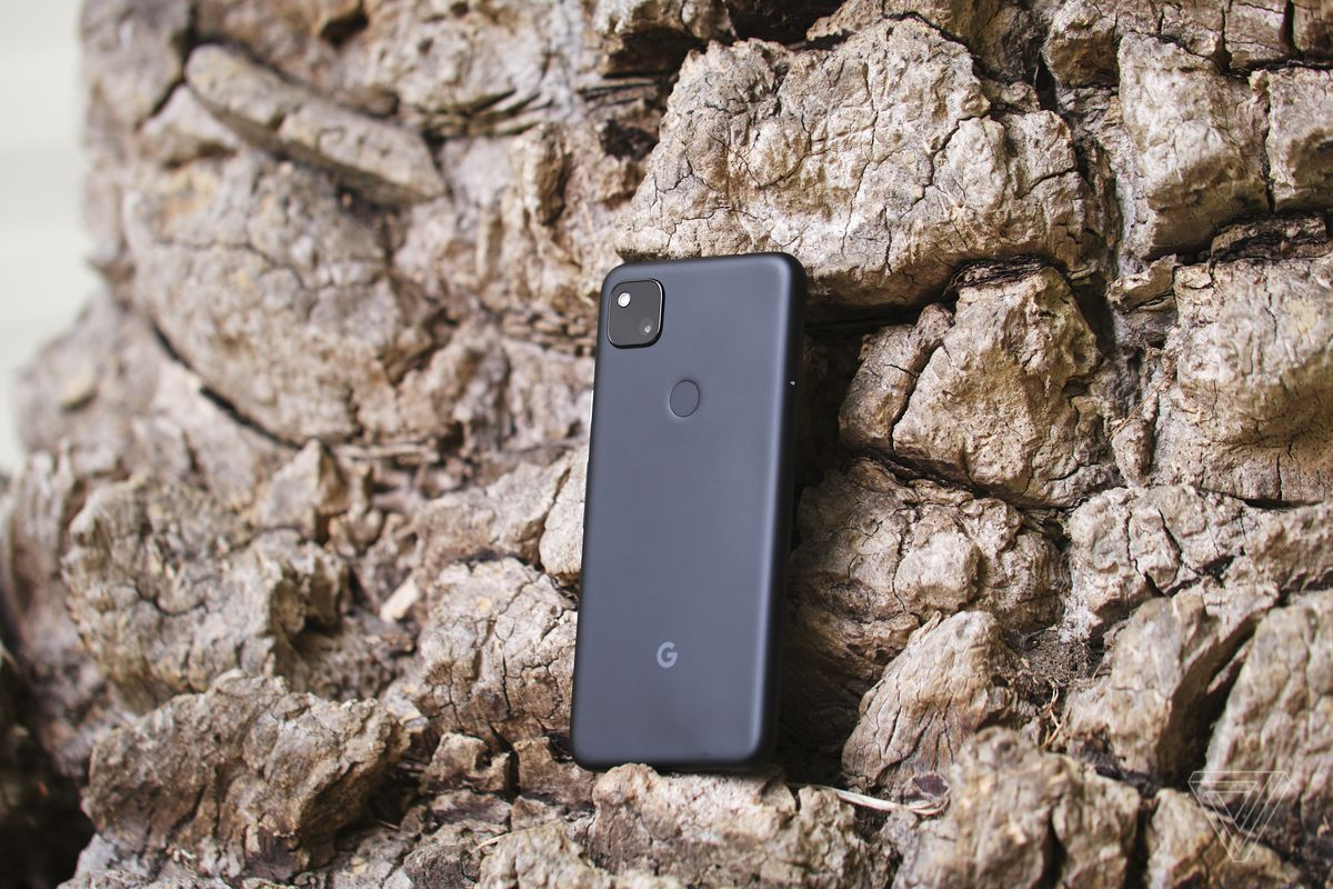 The Google Pixel 4A has a rear-mounted fingerprint sensor.