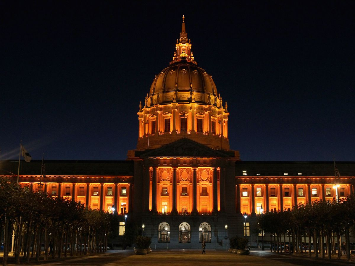City Hall In Civic Center Justin Sullivan Getty Images