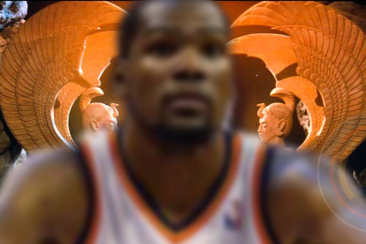 Good thing KD visited the oracle!