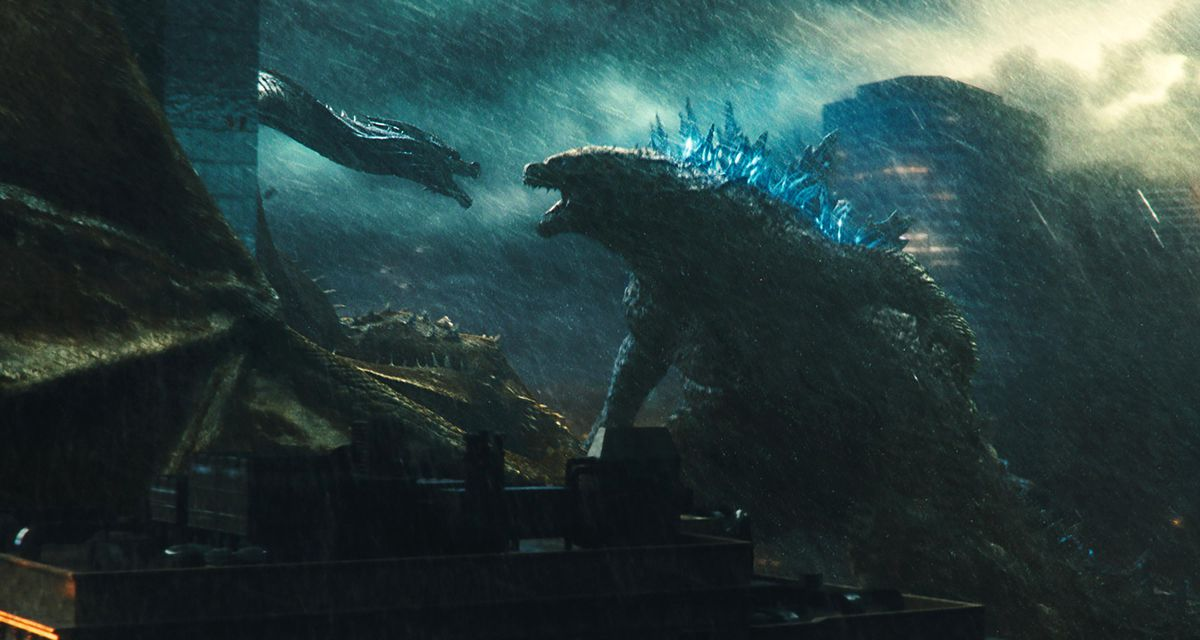 A scene from Godzilla: King of the Monsters.