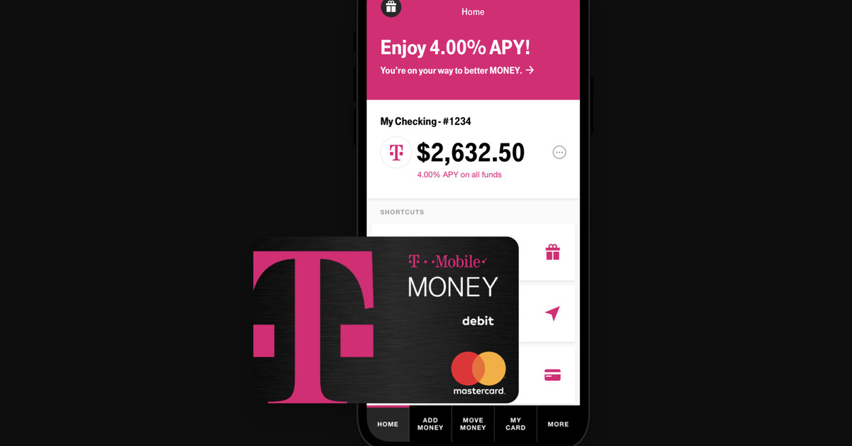 T-Mobile's new checking account launches with appealing interest rates - The Verge