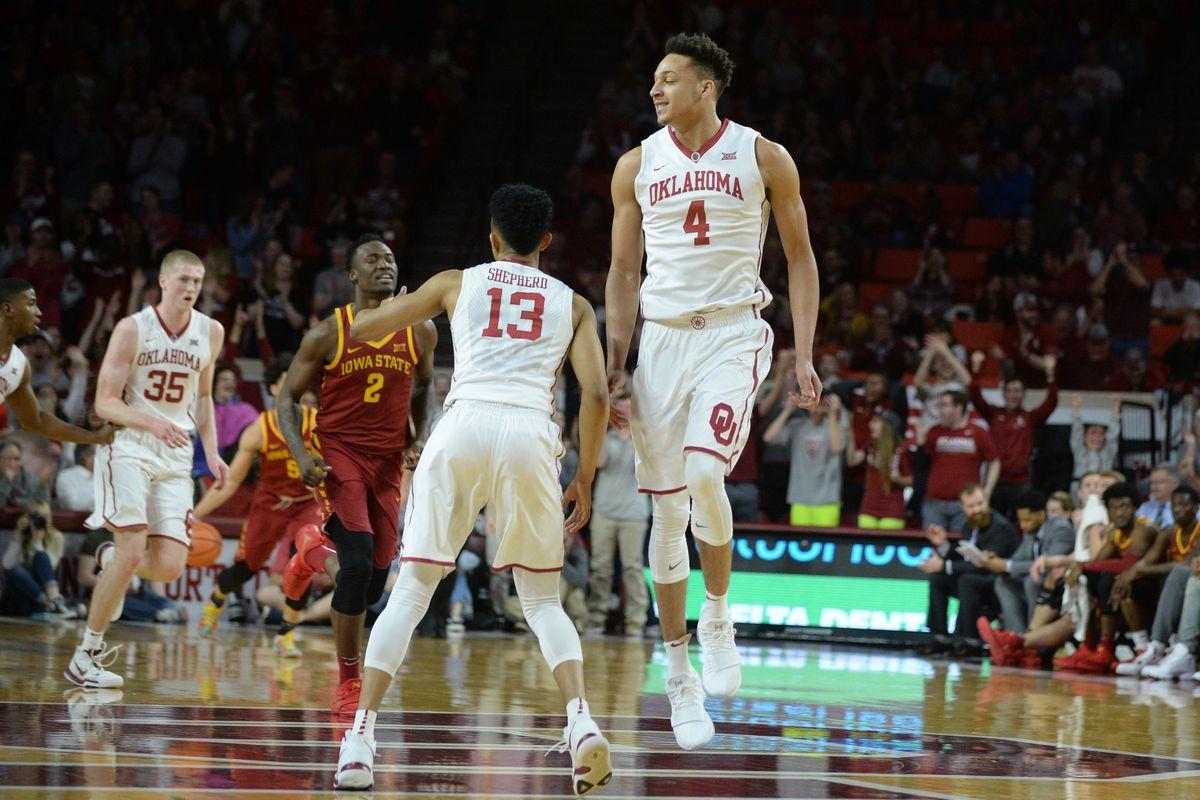 NCAA Basketball: Iowa State at Oklahoma