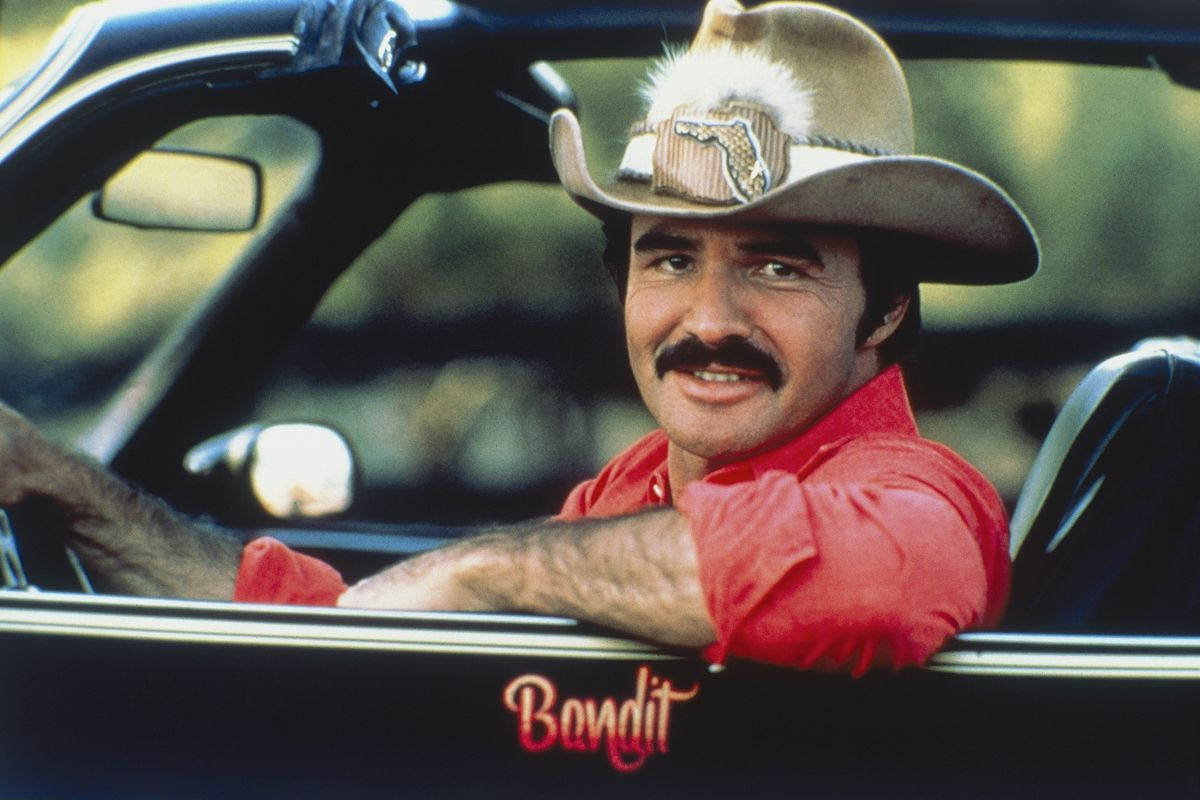 Burt Reynolds in Smokey and the Bandit, 1977 (Photo by Röhnert/ullstein bild via Getty Images)