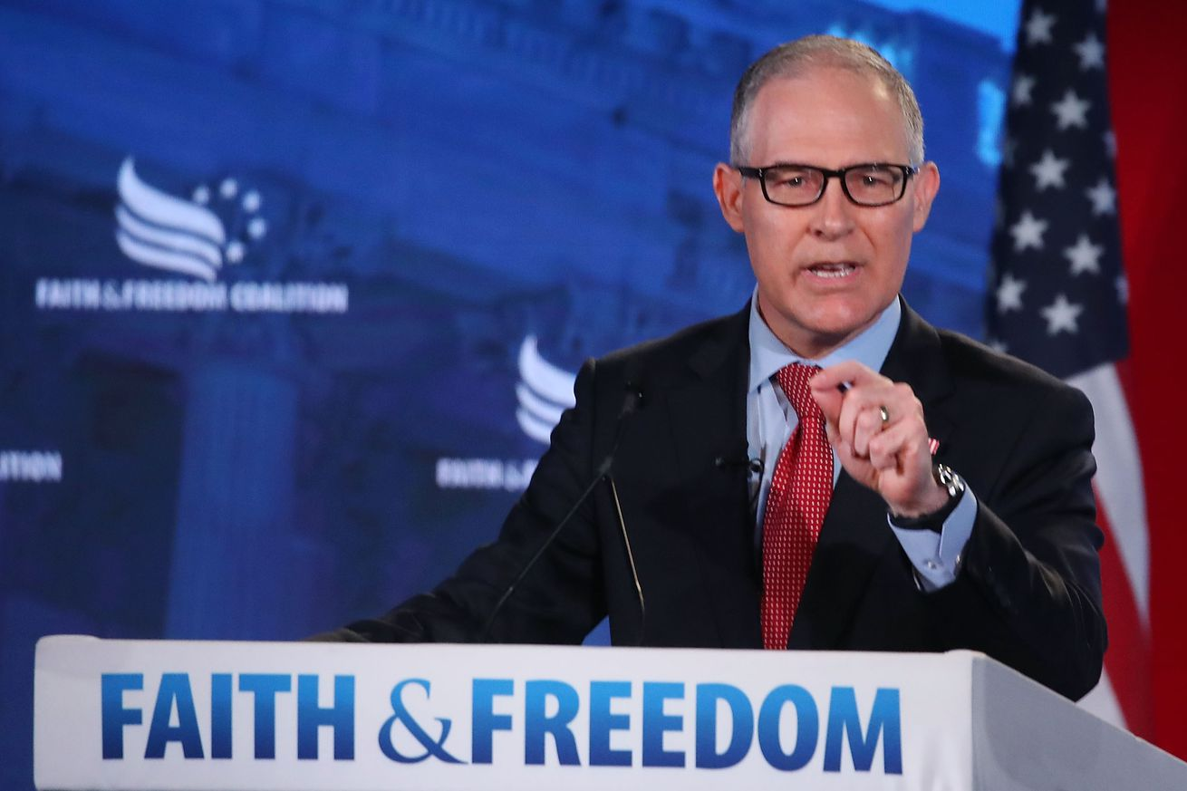 part of scott pruitt s legacy is how he changed the jobs of conservation groups