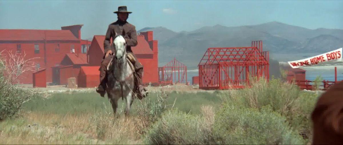 Clint Eastwood in High Plains Drifter