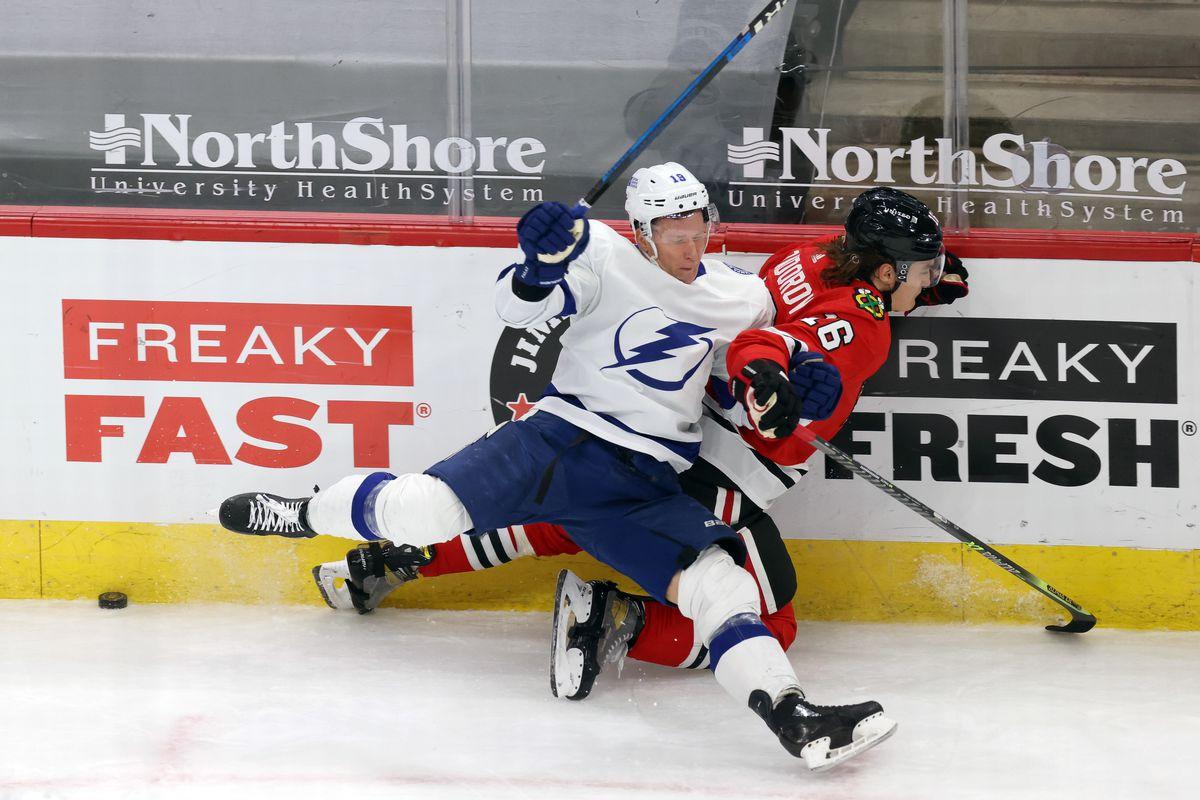 NHL: MAR 04 Lightning at Blackhawks