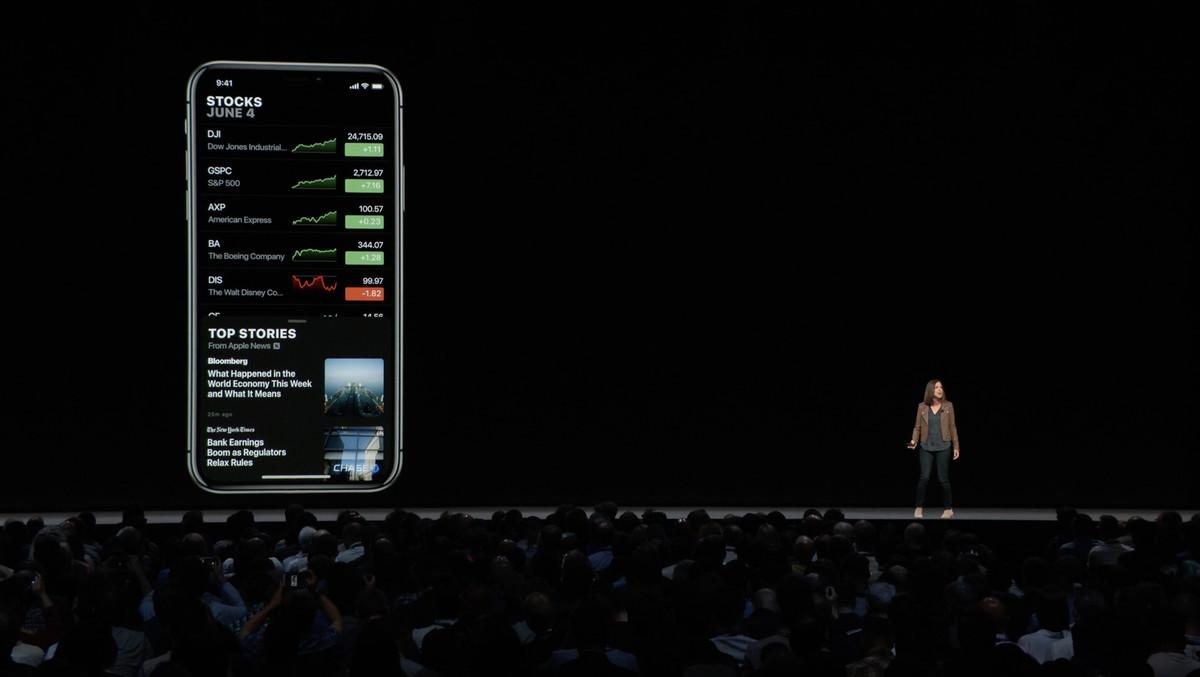 327396748cb Está llegando al iPad, será compatible con los precios de las acciones  fuera de horario, y ahora incluirá contenido de Apple News que podría ser  relevante ...