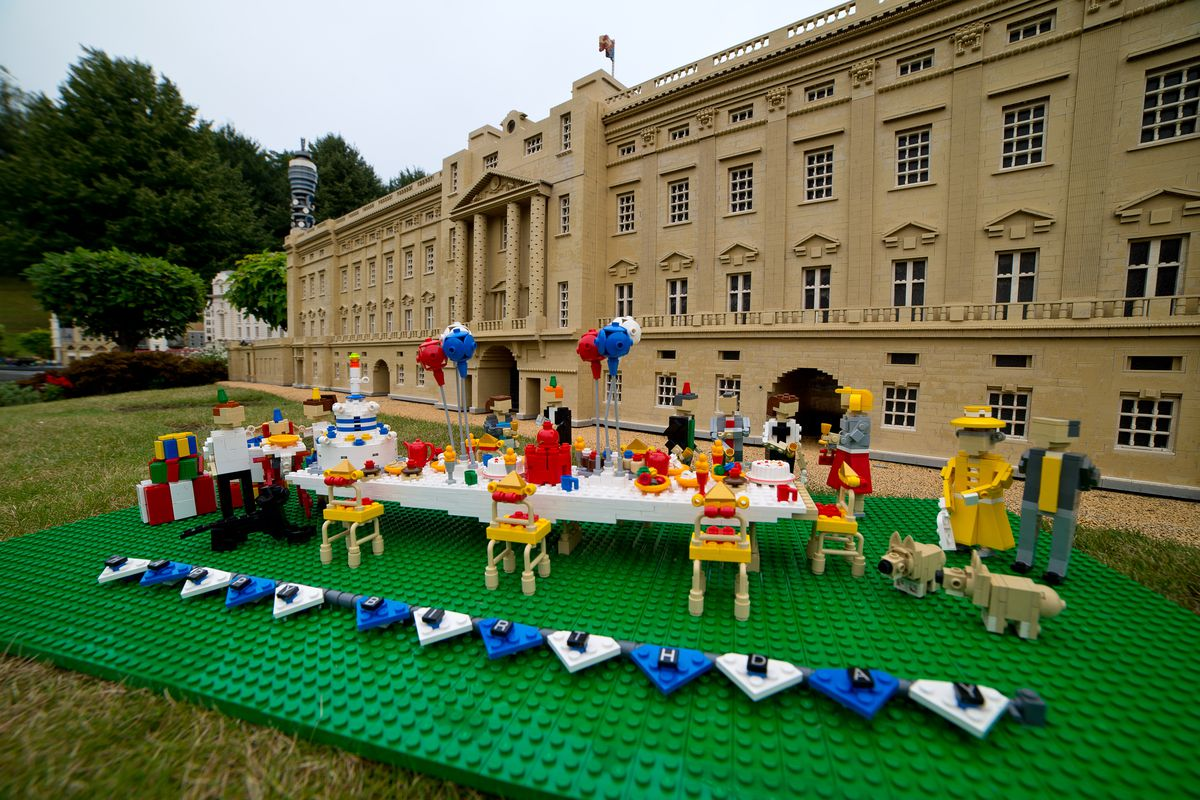 Legoland Windsor Host A First Birthday Party For Prince George Of Cambridge
