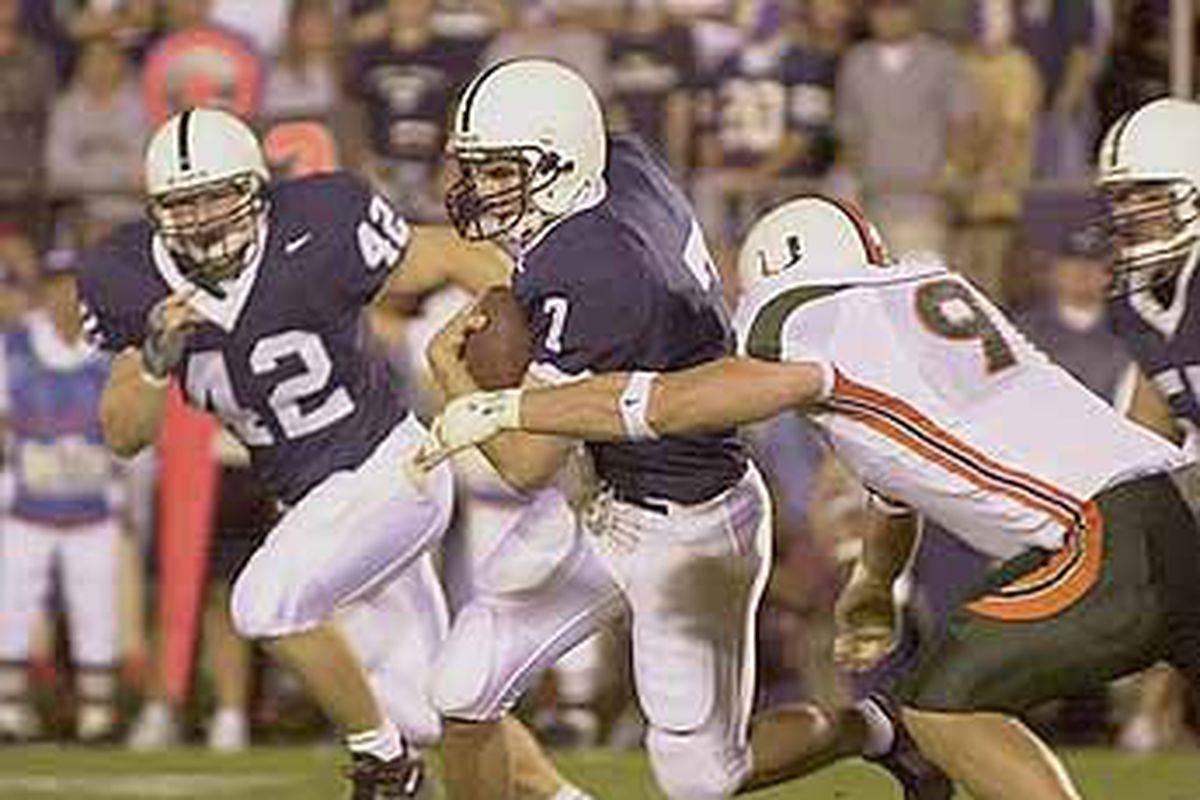 Miami vs Penn State 2001