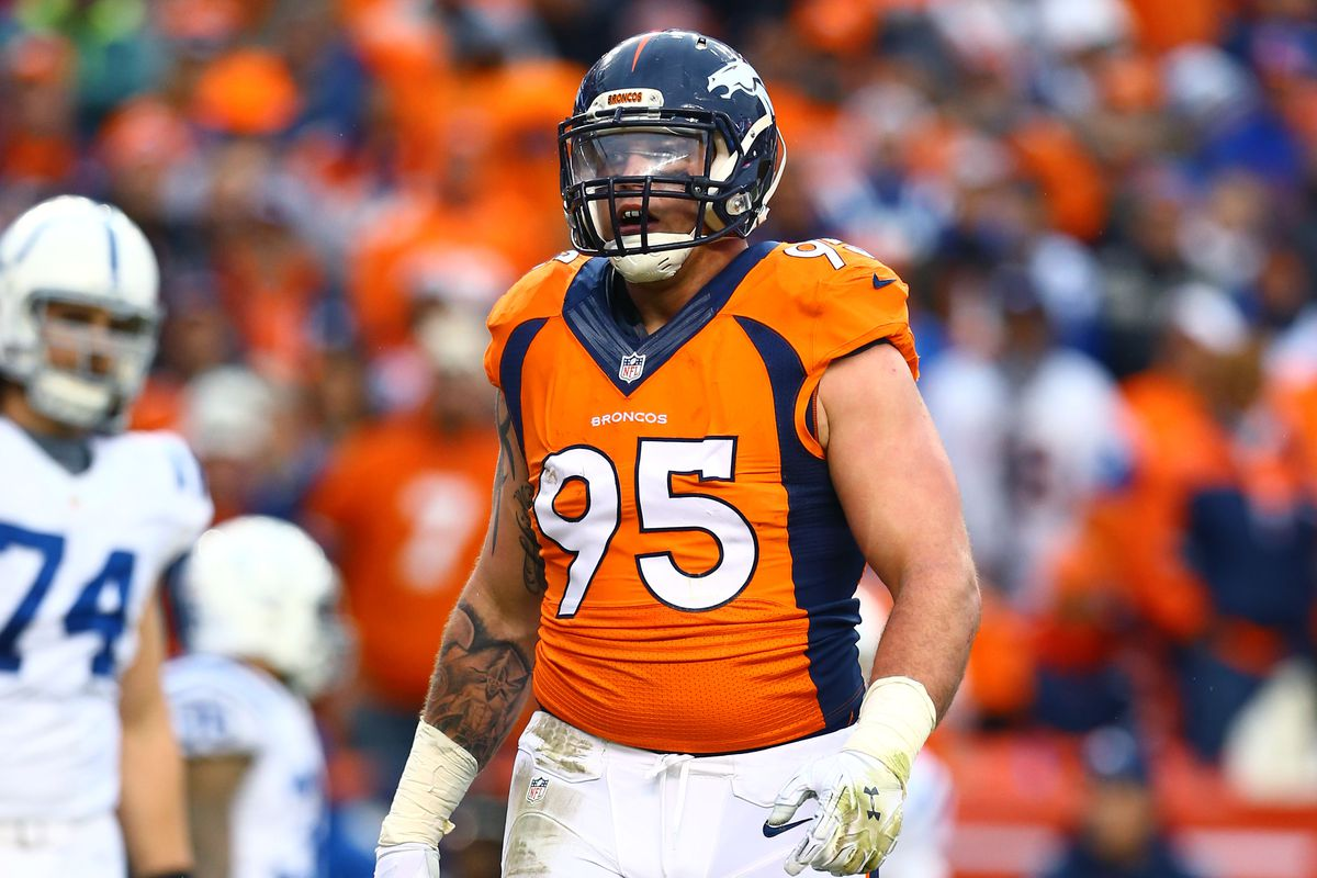 Broncos DE Derek Wolfe suspended 4 games for PED violation