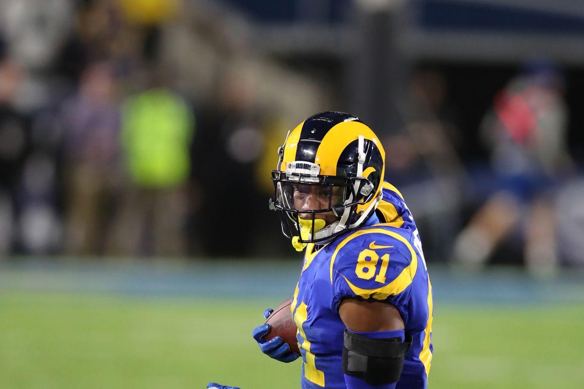 more photos a8dca 40cd1 2019 Rams roster preview: Could Gerald Everett see more ...