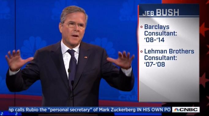Jeb CNBC graphic