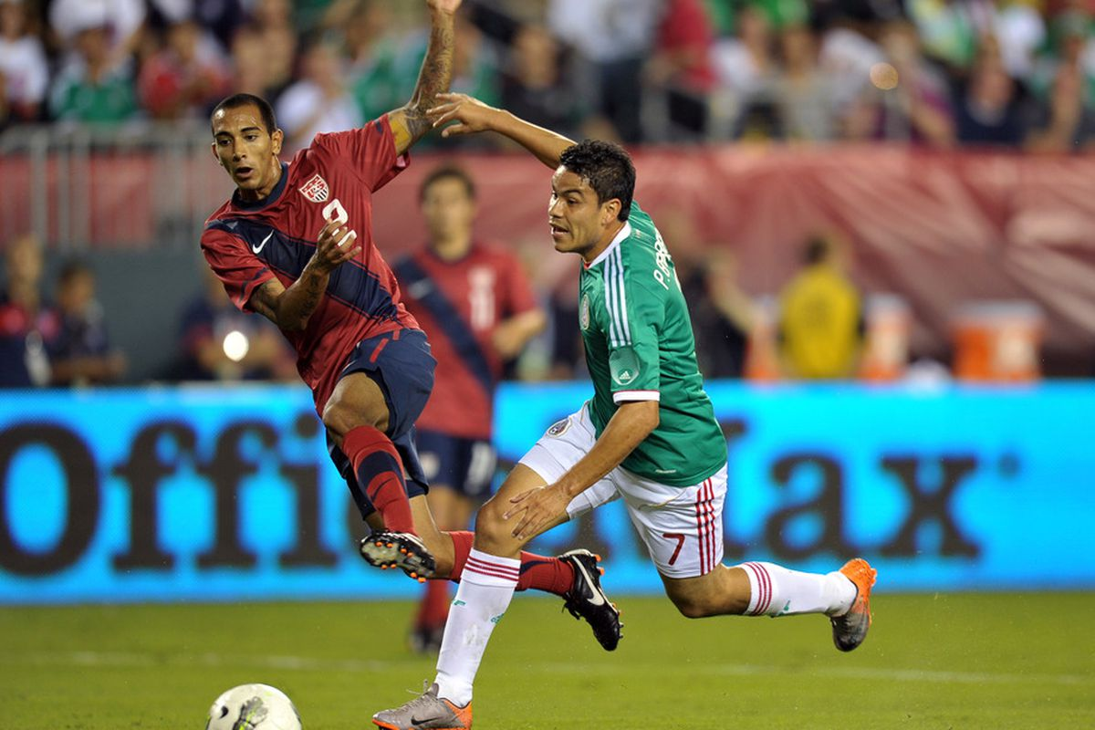 United States international left back Edgar Castillo, who along with Greg Garza, was one of two Americans to join Tijuana in the offseason. Xolos now have three players eligible to represent the USMNT.