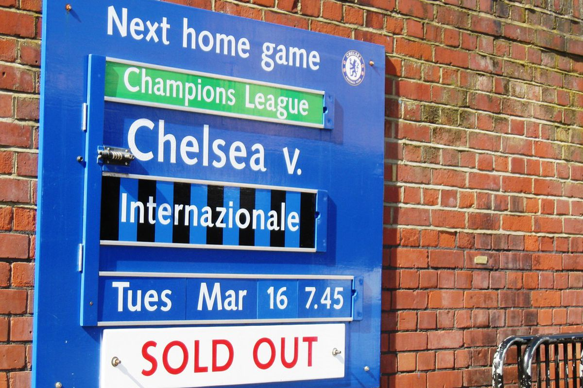 Would life have been different at Stamford Bridge? (Photo By Kirsten Schlewitz)