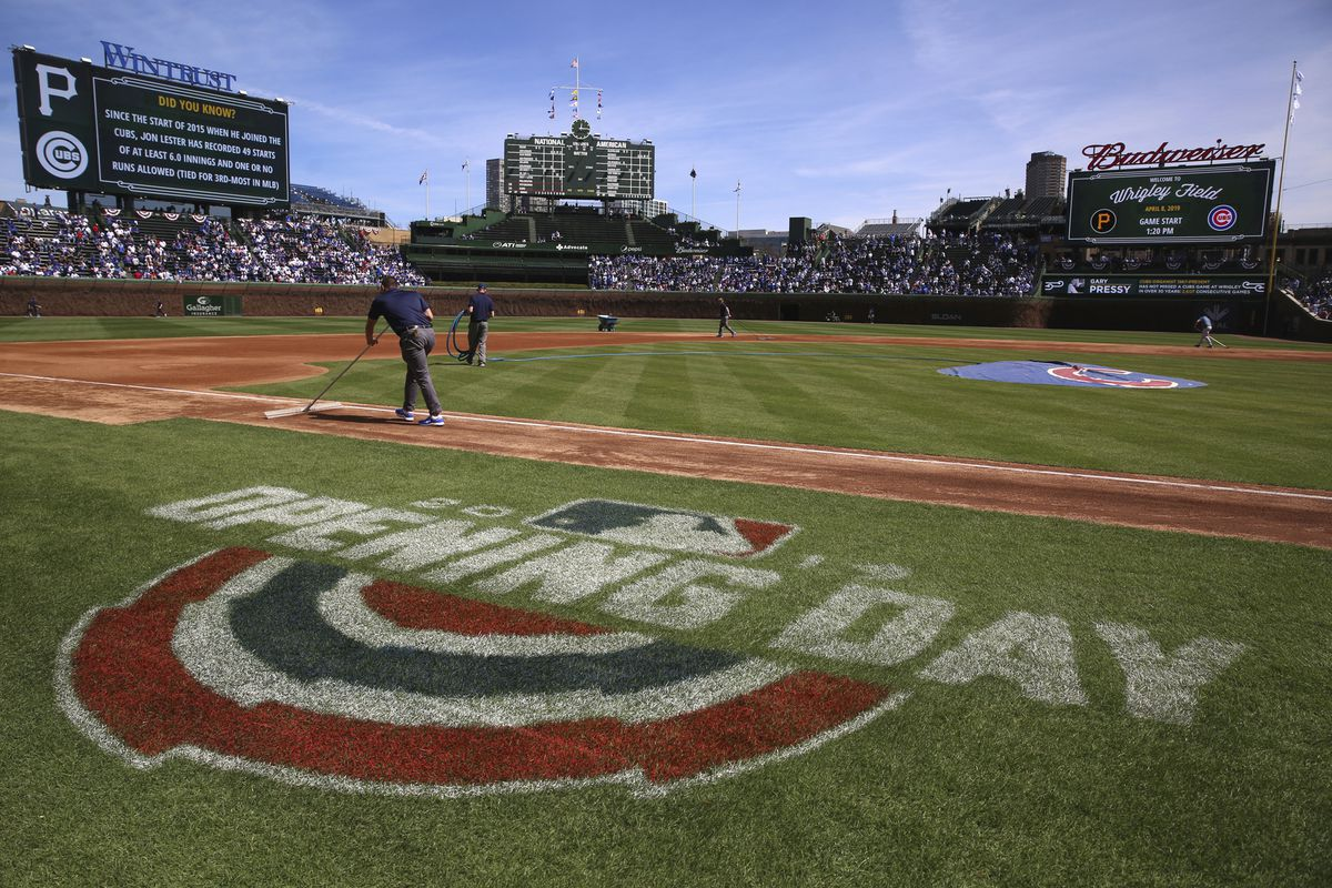Wrigley Field was packed on Opening Day back in April 2019.