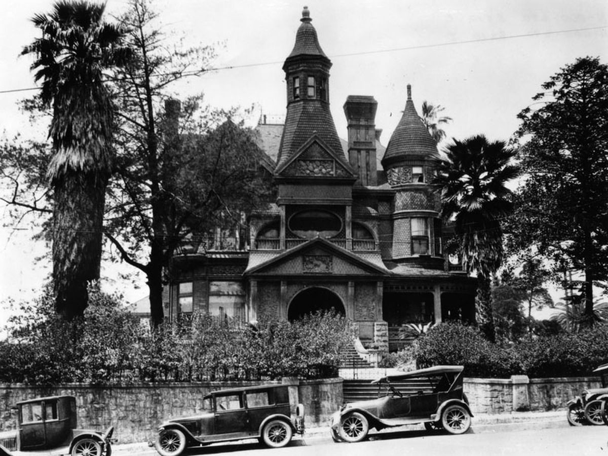 Mapping the most incredible lost mansions of Los Angeles