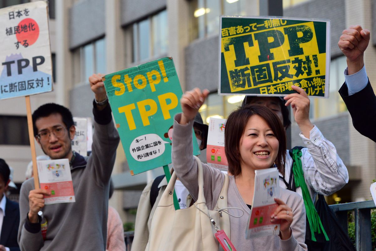 The Trans Pacific Partnership Is One Of The Only Topics On Which