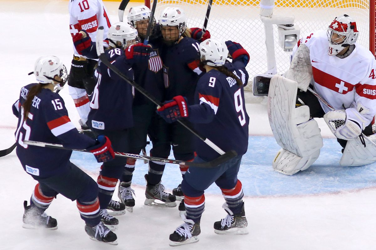 Kendall Coyne's four point night highlighted a dominant performance.