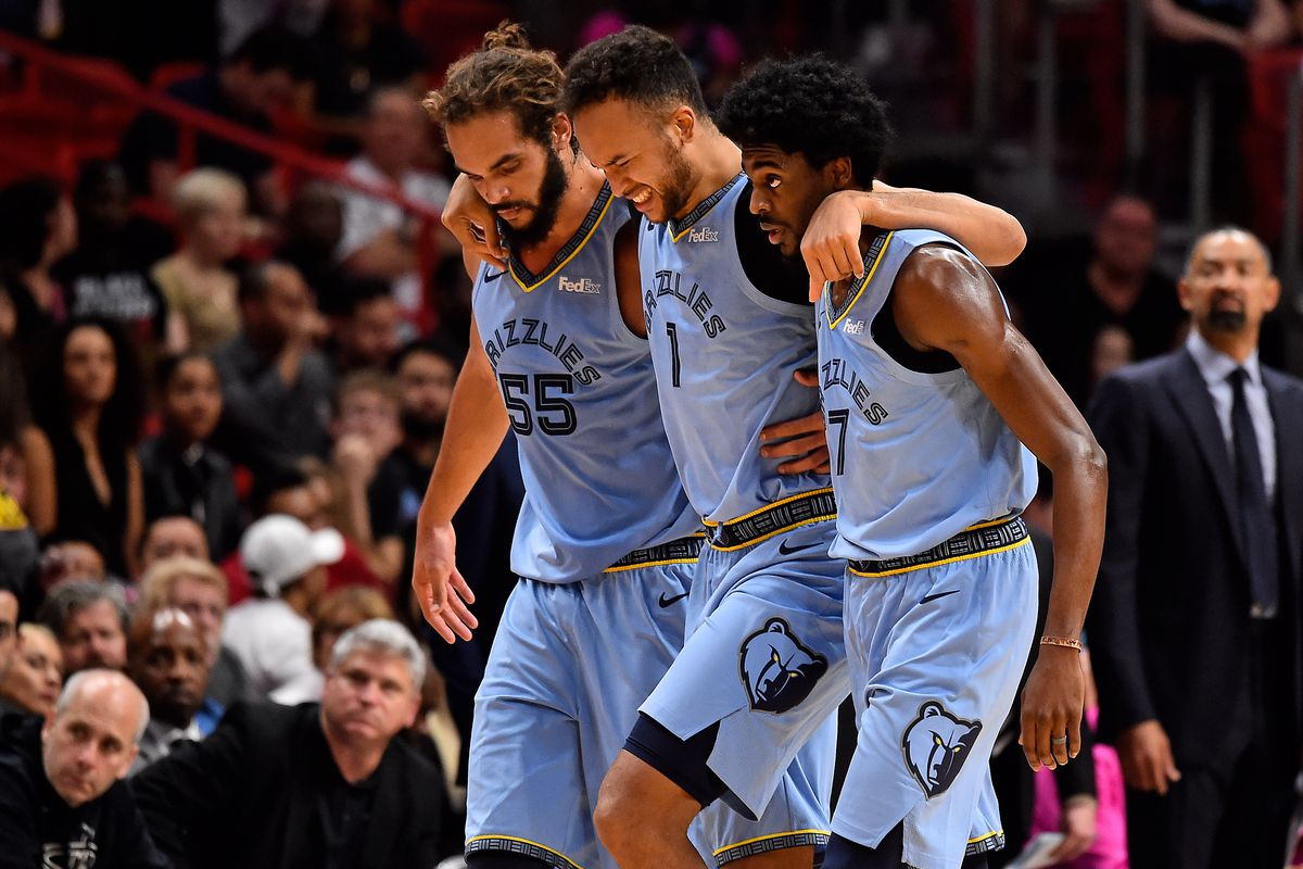 fa6932dd12ac Kyle Anderson out 2-4 weeks with ankle injury - Grizzly Bear Blues